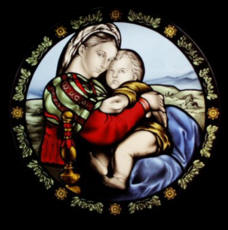 Religious Stained Glass By Paolo Corpetti